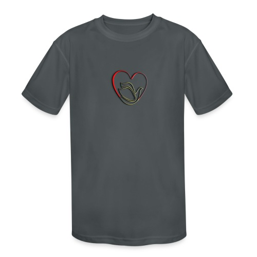 Love and Pureness of a Dove - Kids' Moisture Wicking Performance T-Shirt