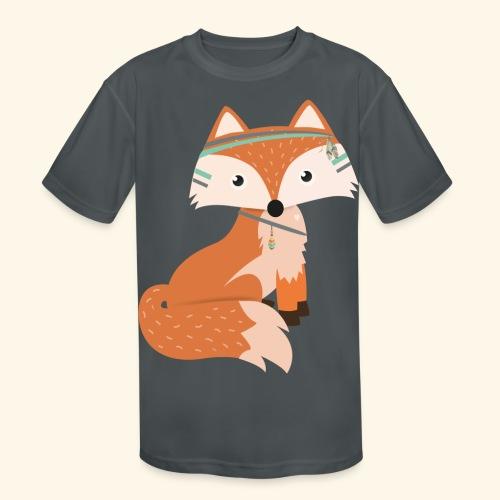Felix Fox - Kids' Moisture Wicking Performance T-Shirt