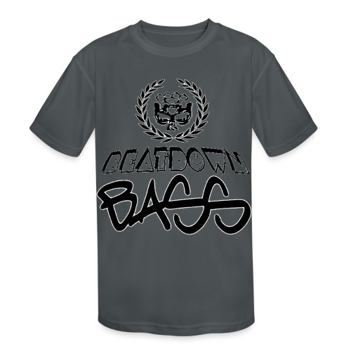 BEATDOWN BLACK LOGO - Kids' Moisture Wicking Performance T-Shirt