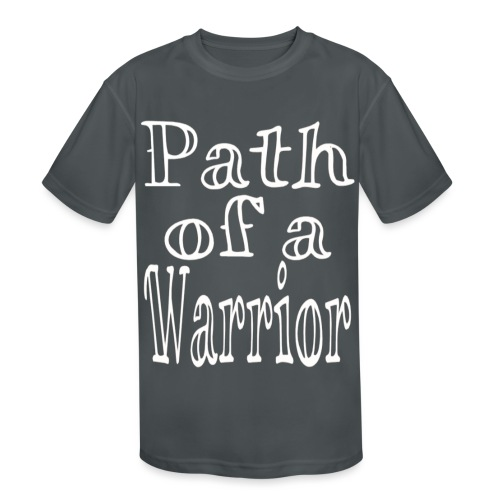 Path of a Warrior - Kids' Moisture Wicking Performance T-Shirt