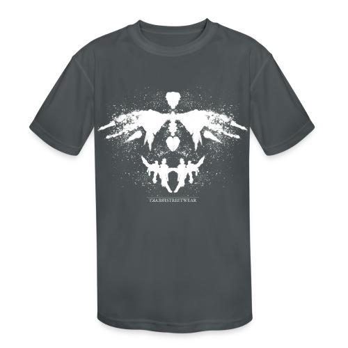 Rorschach_white - Kids' Moisture Wicking Performance T-Shirt