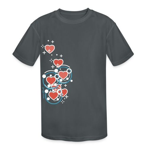 SuperHearts - Kids' Moisture Wicking Performance T-Shirt