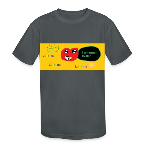 pechy vs apple - Kids' Moisture Wicking Performance T-Shirt
