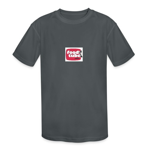 FoodTube - Kids' Moisture Wicking Performance T-Shirt
