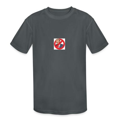 blog stop trump - Kids' Moisture Wicking Performance T-Shirt