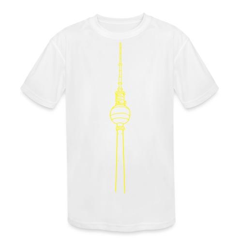 Berlin TV Tower - Kids' Moisture Wicking Performance T-Shirt
