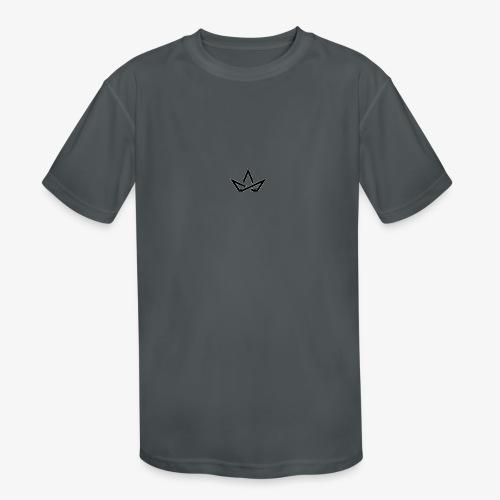 WAZEER - Kids' Moisture Wicking Performance T-Shirt