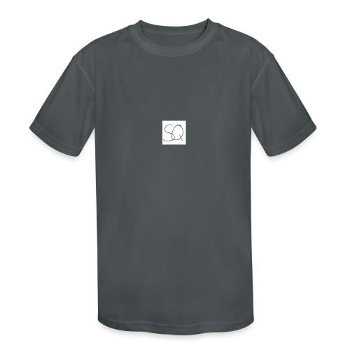 Smokey Quartz SQ T-shirt - Kids' Moisture Wicking Performance T-Shirt