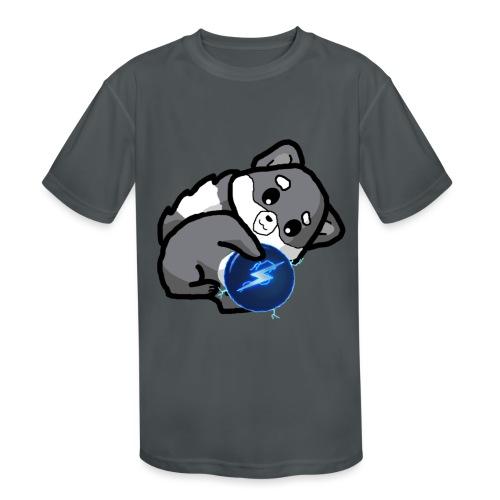 Eluketric's Zapp - Kids' Moisture Wicking Performance T-Shirt