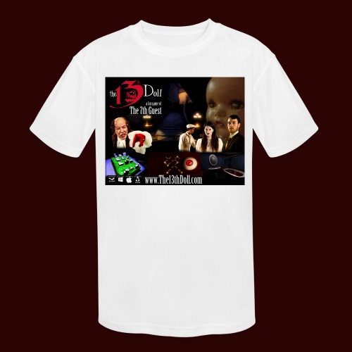 The 13th Doll Cast and Puzzles - Kids' Moisture Wicking Performance T-Shirt