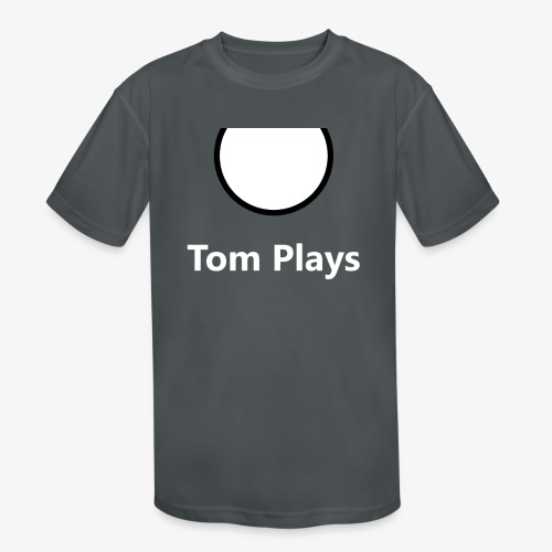 TomPlaysCircle - Kids' Moisture Wicking Performance T-Shirt