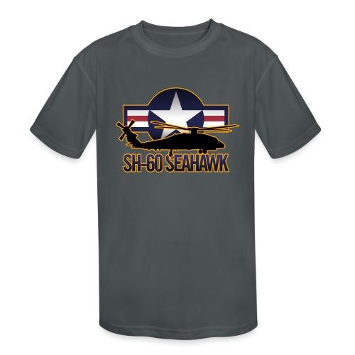 SH 60 sil jeffhobrath MUG - Kids' Moisture Wicking Performance T-Shirt