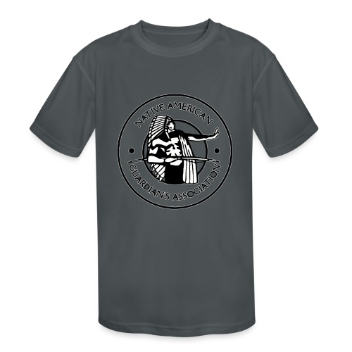 Naga LOGO Outlined - Kids' Moisture Wicking Performance T-Shirt