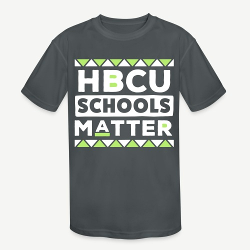 HBCU Schools Matter - Kids' Moisture Wicking Performance T-Shirt