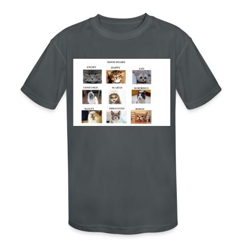 MOOD BOARD - Kids' Moisture Wicking Performance T-Shirt