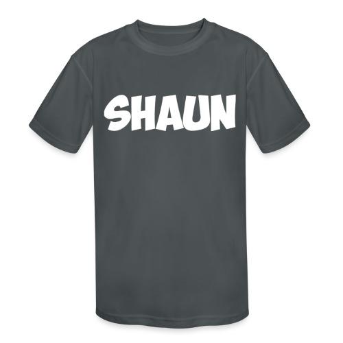Shaun Logo Shirt - Kids' Moisture Wicking Performance T-Shirt