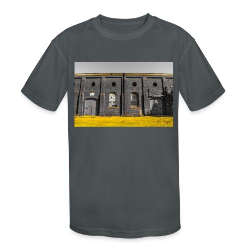 Bricks: who worked here - Kids' Moisture Wicking Performance T-Shirt