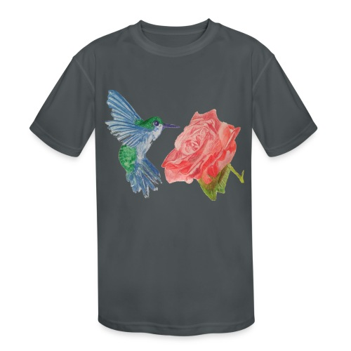 Hummingbird - Kids' Moisture Wicking Performance T-Shirt