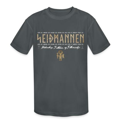 SEIÐMANNEN - Heathenry, Magic & Folktales - Kids' Moisture Wicking Performance T-Shirt