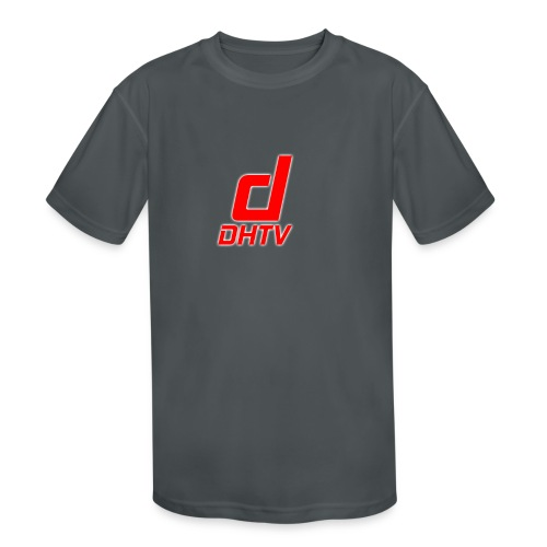 DHTV_Logo_New - Kids' Moisture Wicking Performance T-Shirt