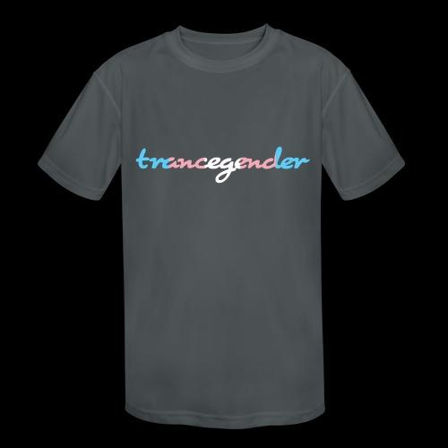trancegender - Kids' Moisture Wicking Performance T-Shirt
