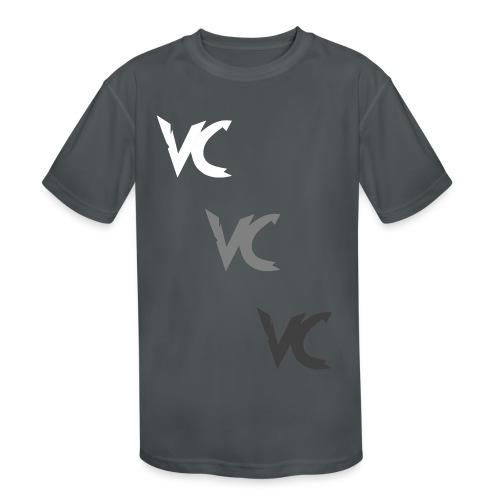 V3L0C1TY Logo Mugs & Drinkware - Kids' Moisture Wicking Performance T-Shirt