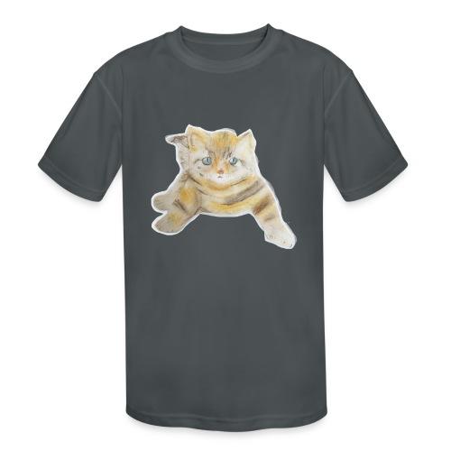 sad boy - Kids' Moisture Wicking Performance T-Shirt