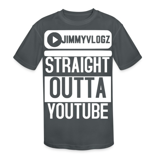 Straight Outta YouTube Merch! - Kids' Moisture Wicking Performance T-Shirt