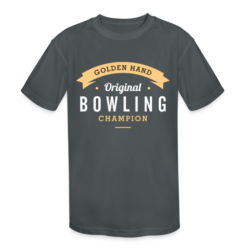 bowling - Kids' Moisture Wicking Performance T-Shirt