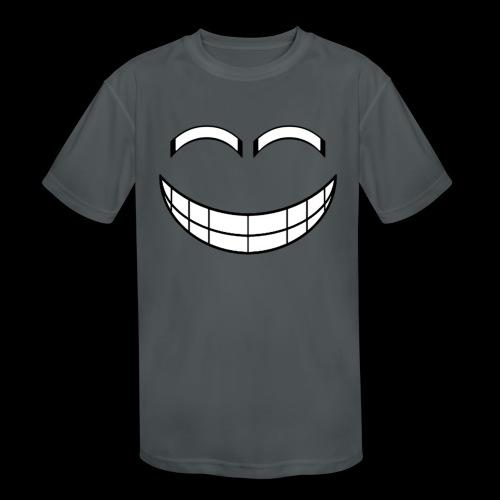 Empty Grin - Kids' Moisture Wicking Performance T-Shirt