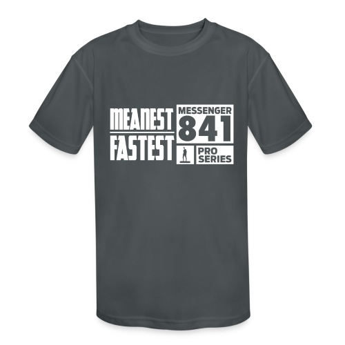 Messenger 841 Meanest and Fastest Crew Sweatshirt - Kids' Moisture Wicking Performance T-Shirt