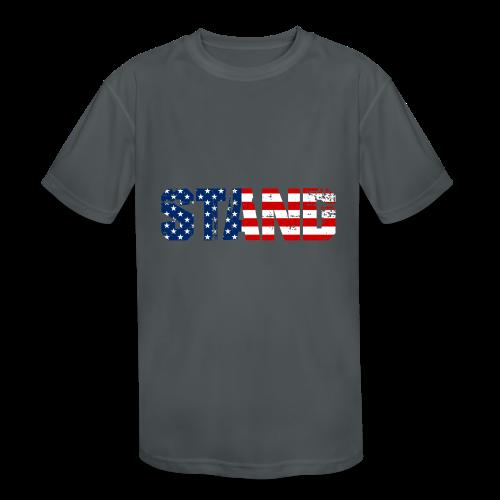 STAND - Kids' Moisture Wicking Performance T-Shirt