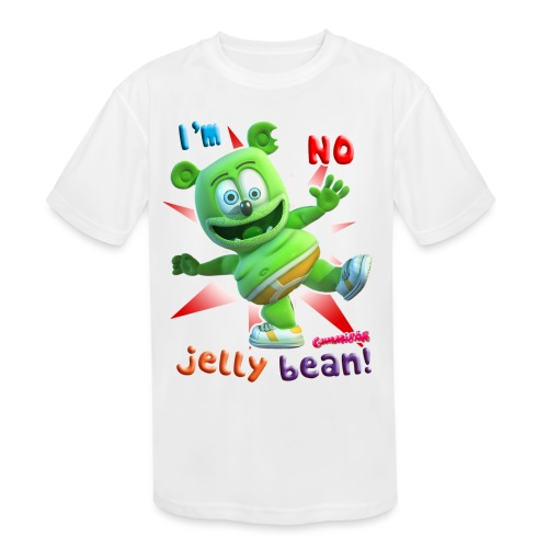 I'm No Jelly Bean - Kids' Moisture Wicking Performance T-Shirt