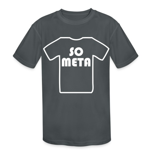 Meta Shirt on a Shirt - Kids' Moisture Wicking Performance T-Shirt