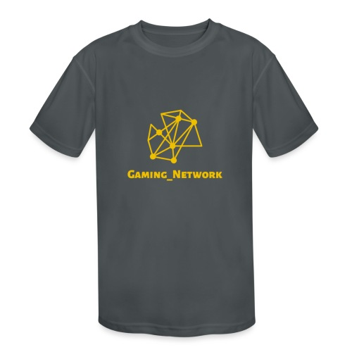 gaming network gold - Kids' Moisture Wicking Performance T-Shirt