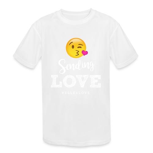 Sending Love - Kids' Moisture Wicking Performance T-Shirt