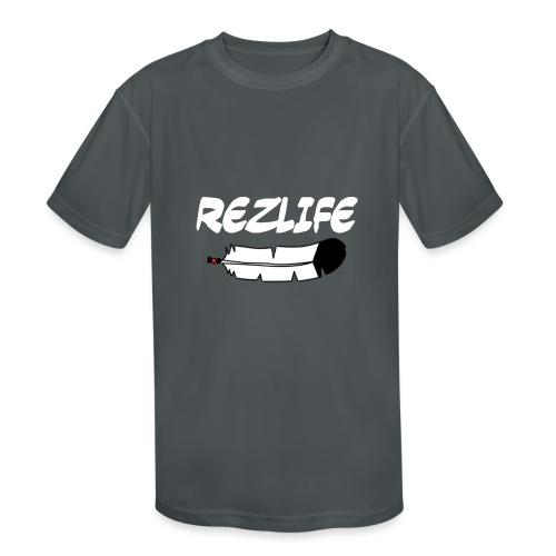 Rez Life - Kids' Moisture Wicking Performance T-Shirt
