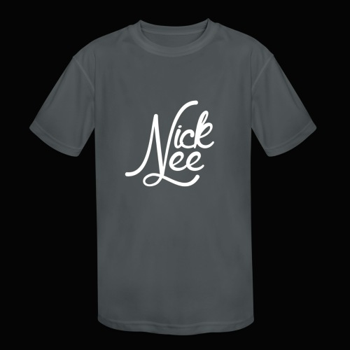 Nick Lee Logo - Kids' Moisture Wicking Performance T-Shirt