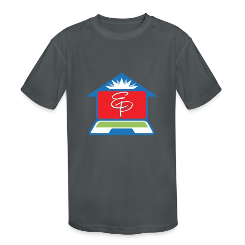 EP Logo Only - Kids' Moisture Wicking Performance T-Shirt