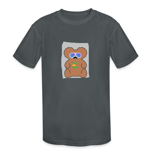 Aussie Dad Gaming Koala - Kids' Moisture Wicking Performance T-Shirt