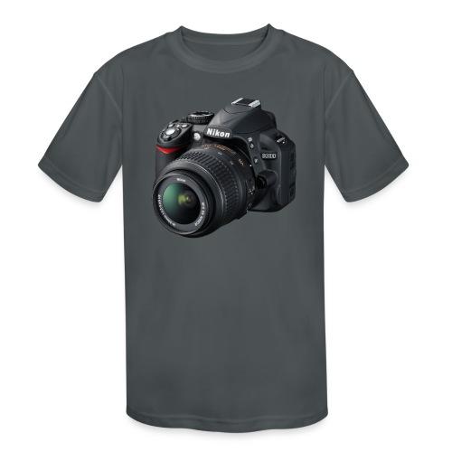 photographer - Kids' Moisture Wicking Performance T-Shirt