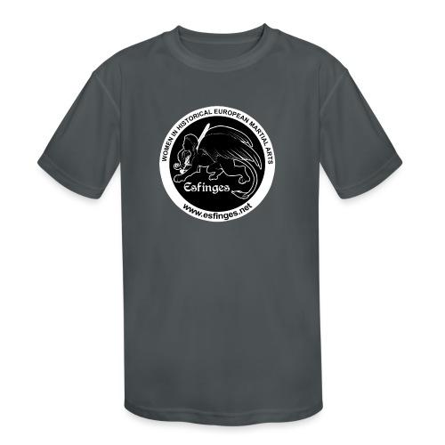 Esfinges Logo Black - Kids' Moisture Wicking Performance T-Shirt