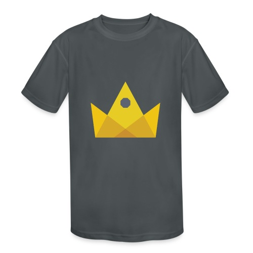 I am the KING - Kids' Moisture Wicking Performance T-Shirt