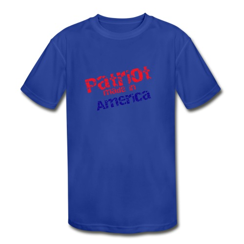 Patriot mug - Kids' Moisture Wicking Performance T-Shirt