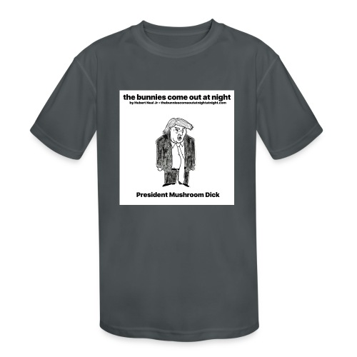 tbcoan Mushroom Dick - Kids' Moisture Wicking Performance T-Shirt