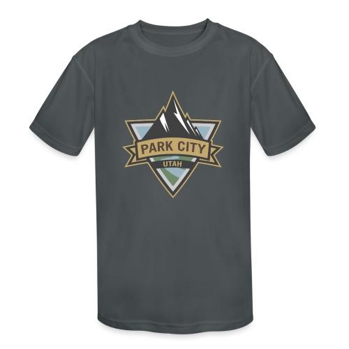 Park City, Utah - Kids' Moisture Wicking Performance T-Shirt
