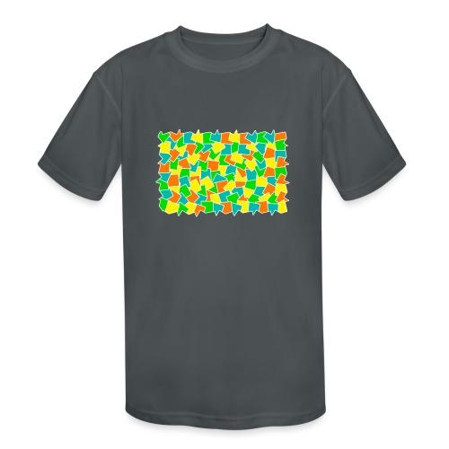 Dynamic movement - Kids' Moisture Wicking Performance T-Shirt