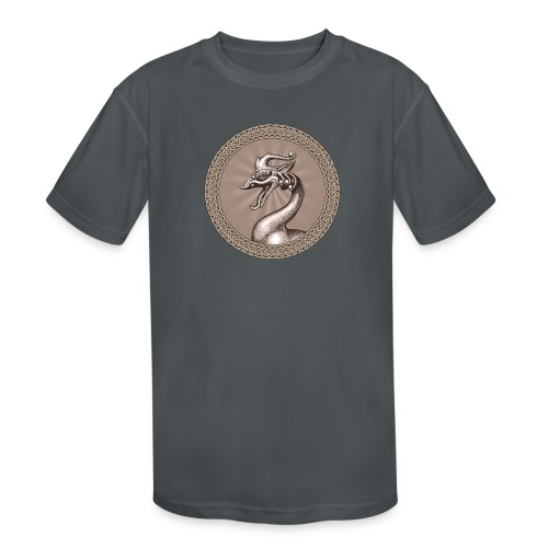 Laughing Dragon - Kids' Moisture Wicking Performance T-Shirt