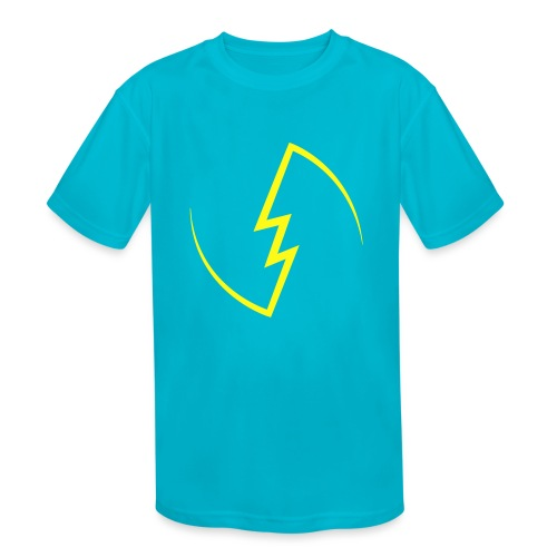 Electric Spark - Kids' Moisture Wicking Performance T-Shirt