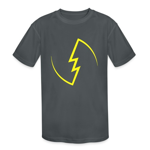 Electric Spark - Kids' Moisture Wicking Performance T-Shirt
